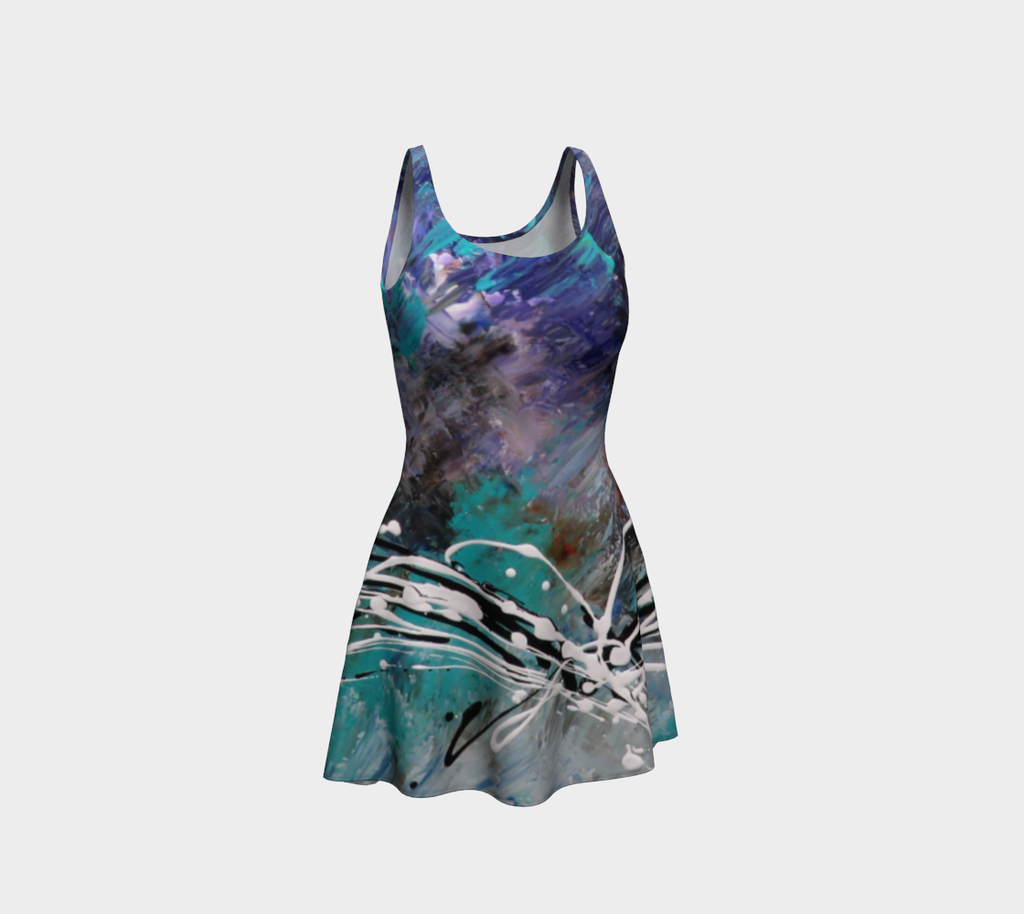 Matt LeBlanc Art Flare Dress - Design 003