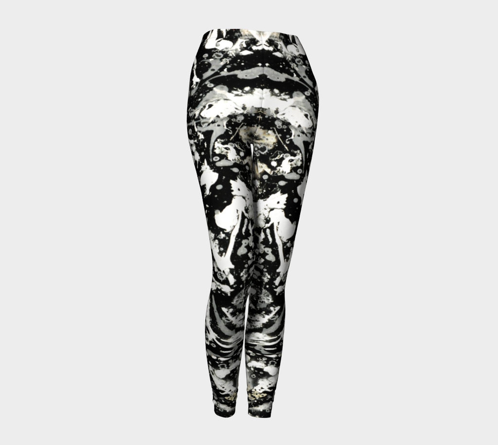 Matt LeBlanc Art Leggings - Design 001