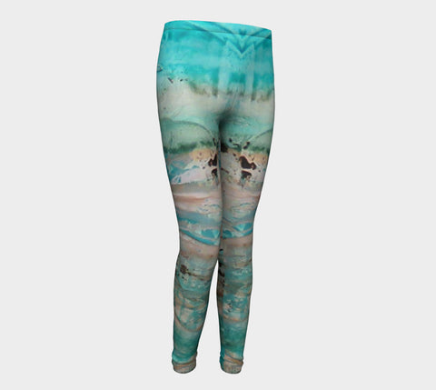 Matt LeBlanc Art Youth Leggings - Design 002