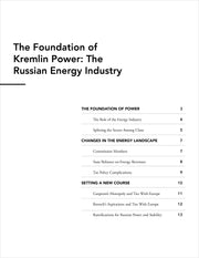 Oil! - Russian Energy Industry - Stratfor Store