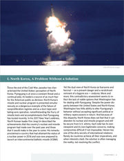 The North Korean Nuclear Challenge