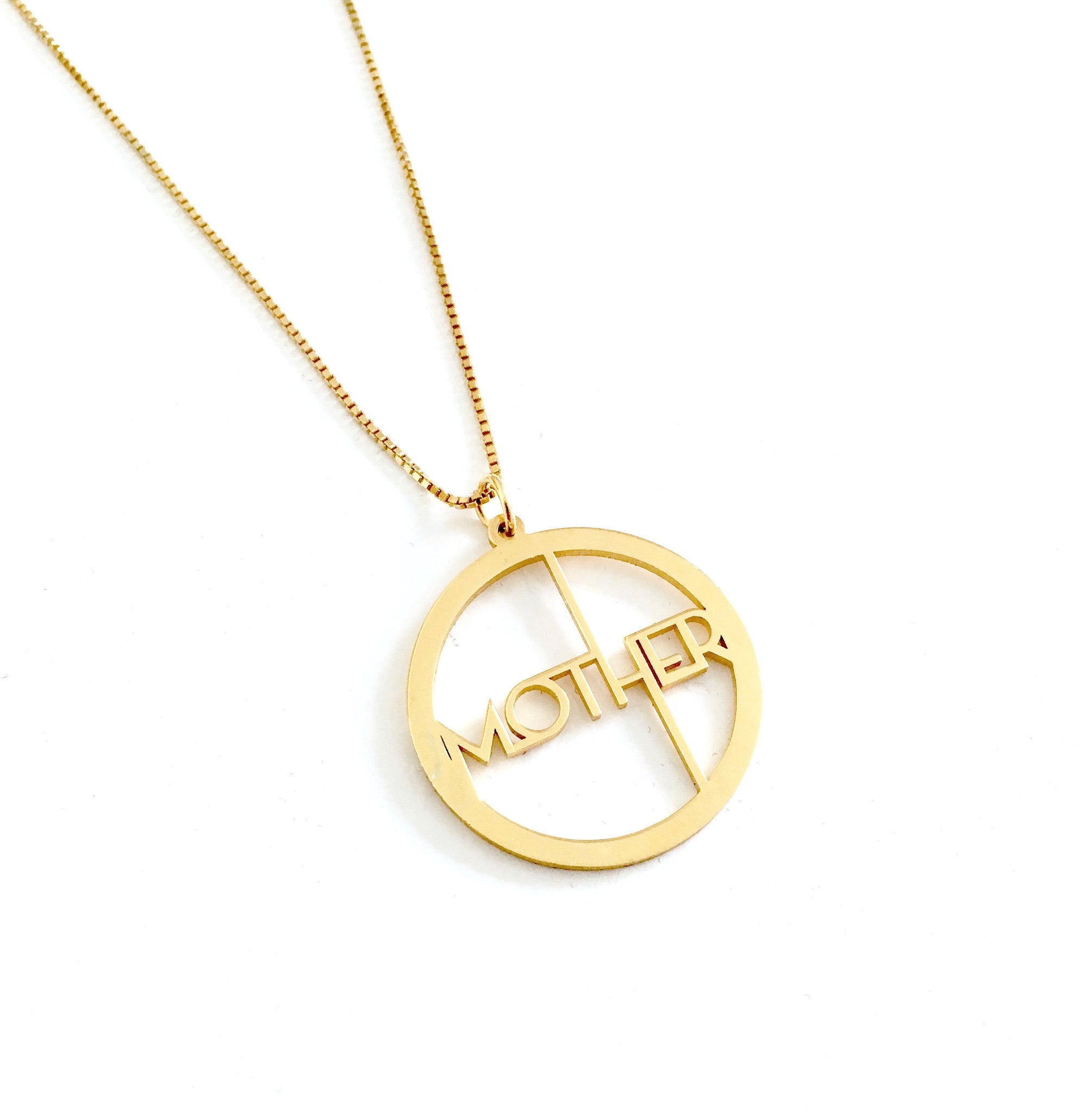 MOTHER CIRCLE© PENDANT NECKLACE