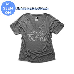 JENNIFER LOPEZ JLO STYLE PROTECTOR LOVER MOTHER TSHIRT THE LB BRAND