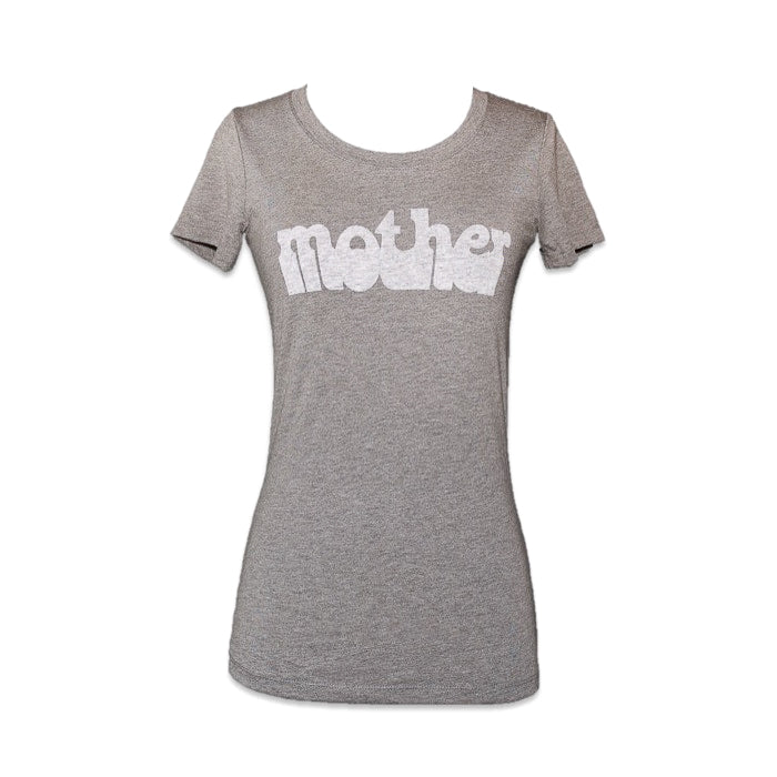 HAIGHT ASHBURY MOTHER VINTAGE TEE - GREY