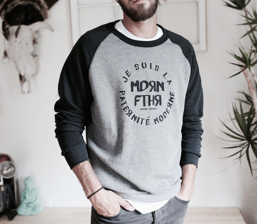 JE SUIS LA PATERNITÉ MODERNE | MENS SWEATSHIRT