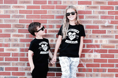 MODERN KID LOVE GANG | BLACK KIDS TSHIRT