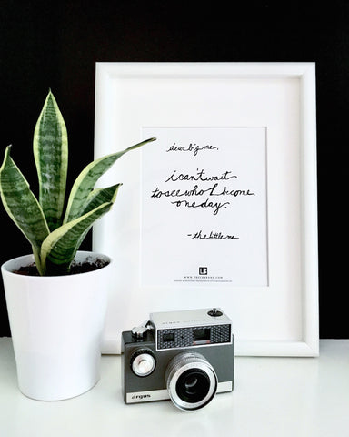 DEAR BIG ME® WALL PRINT | 8.5X11