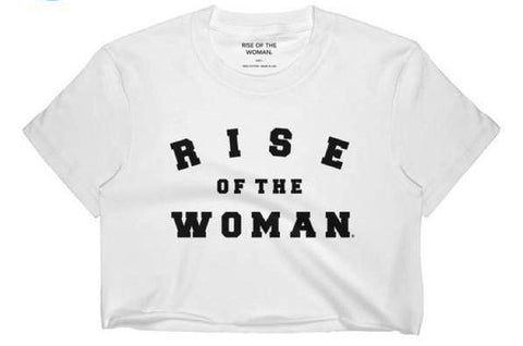 RISE OF THE WOMAN CROP TOP TOV LO FEMINIST APPAREL AND ACCESSORIES LADY WOOD TOUR