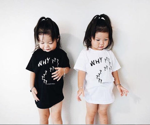 WHY?????????? | WHITE KIDS TSHIRT