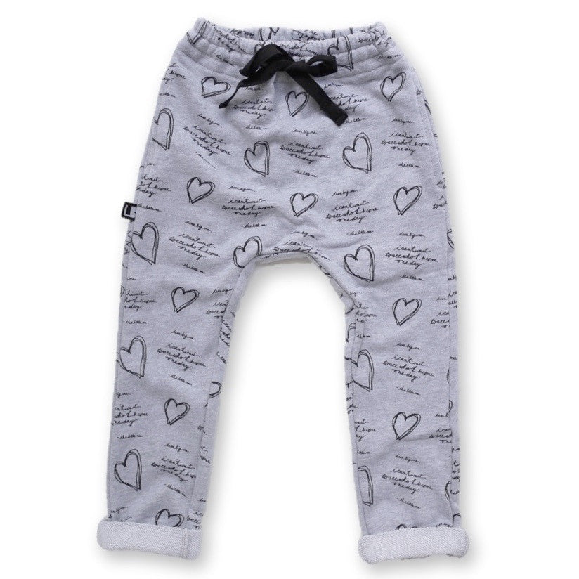 DEAR BIG ME® | KIDS GRAY SLIM FIT JOGGER WITH POCKETS