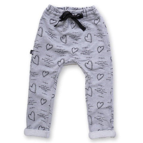 DEAR BIG ME® KIDS GRAY SLIM FIT JOGGER WITH POCKETS