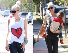 Gwen Stefani with I am Modern Motherhood Sunglasses