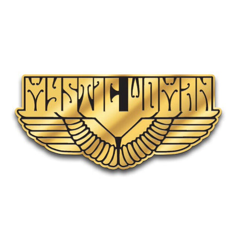 MYSTIC WOMAN™ SOFT ENAMEL PIN - GOLD & BLACK