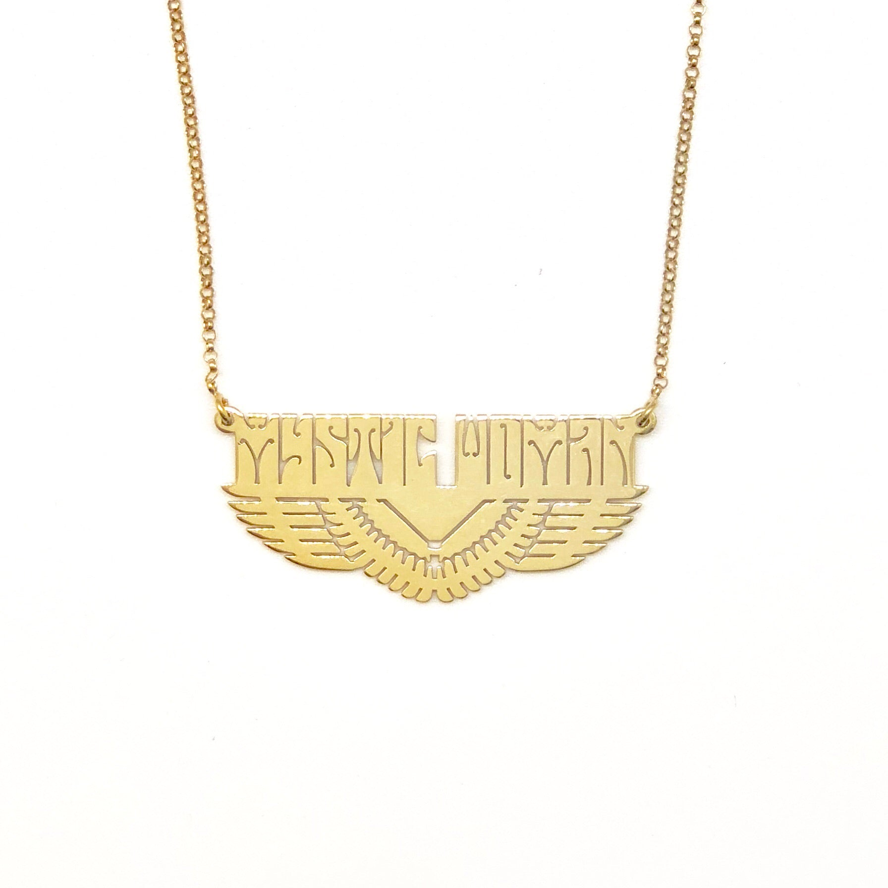 MYSTIC WOMAN™ RISING PHOENIX PENDANT NECKLACE