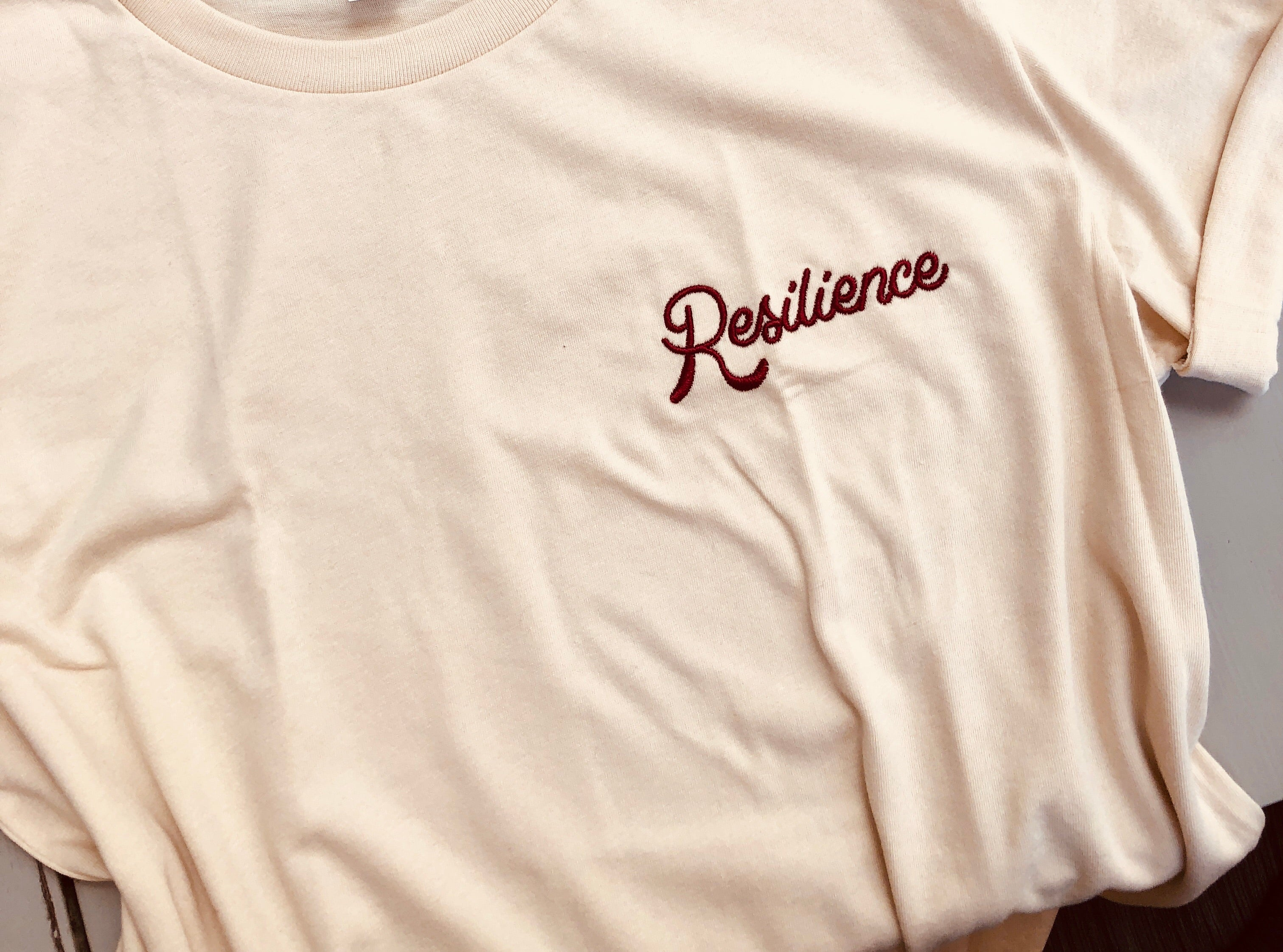 Resilience Vintage Embroidered Unisex T-shirt