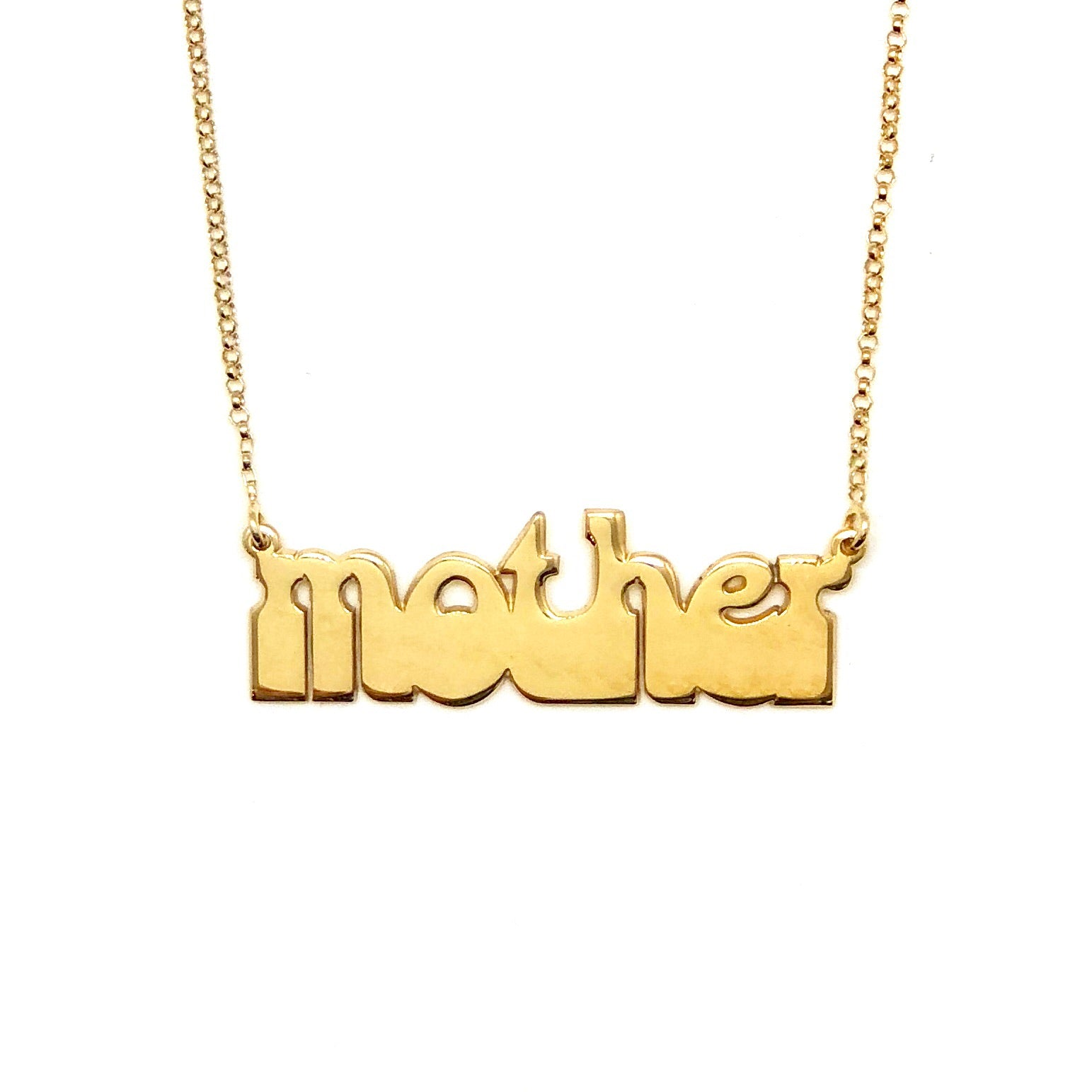 HAIGHT ASHBURY MOTHER PENDANT NECKLACE