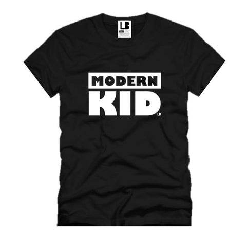 MODERN KID | BLACK KIDS TSHIRT