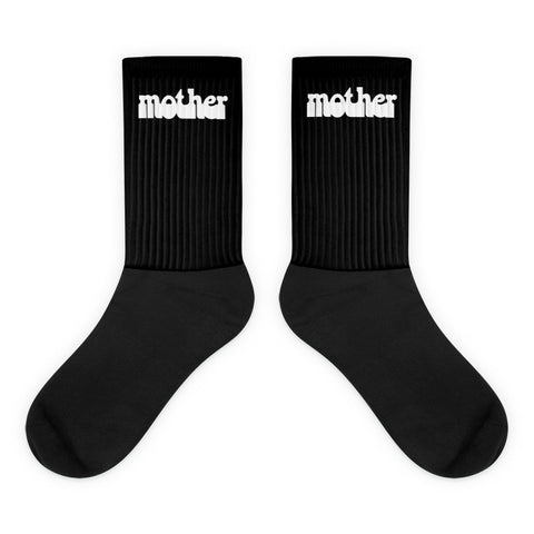 HAIGHT ASHBURY MOTHER BLACK SOCKS