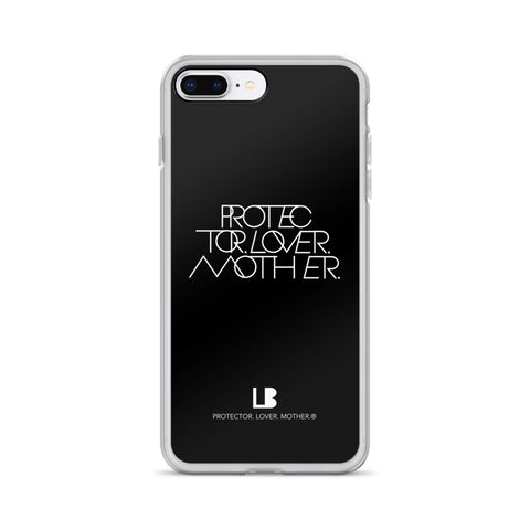 INTERLOCK PROTECTOR LOVER MOTHER® BLACK IPHONE CASES