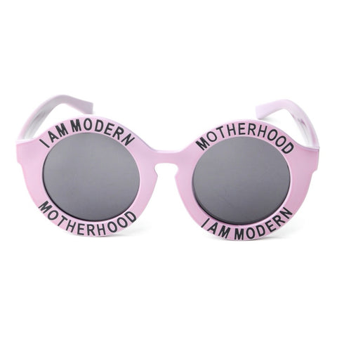 I AM MODERN MOTHERHOOD® LILAC MAGIC ROUND SUNGLASSES