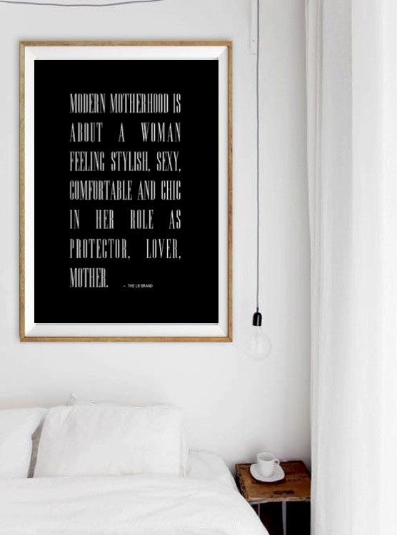 MODERN MOTHERHOOD WALL PRINT - 11X17