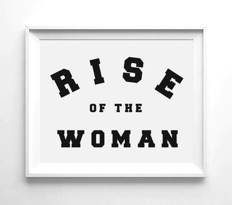RISE OF THE WOMAN™ WALL PRINT | 8.5X11