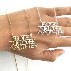 PROTECTOR LOVER MOTHER® PENDANT NECKLACE