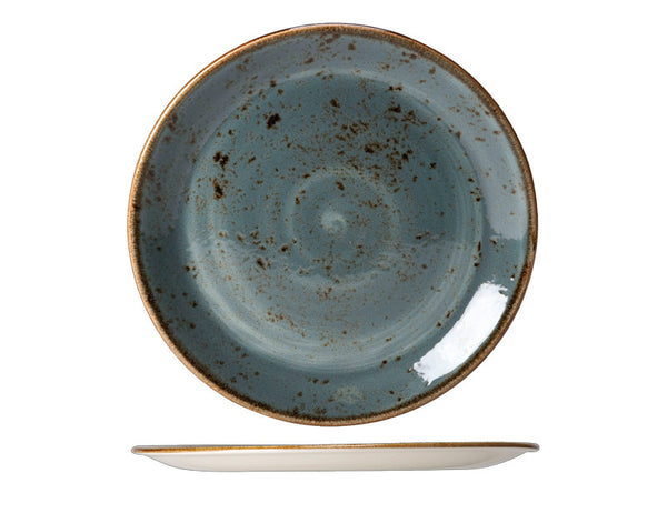 Steelite Craft Coupe Plate Blue 25cm