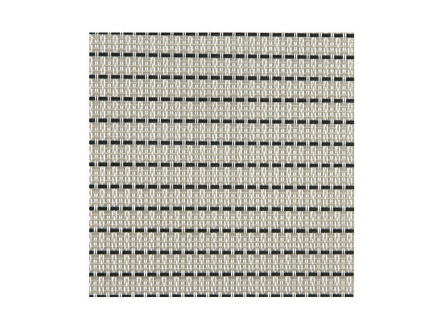 Sambonet Table Mat White Pin-Striped 42x33cm