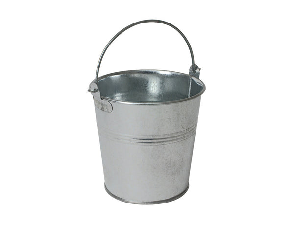 Genware Galvanised Serving Bucket 10x9cm