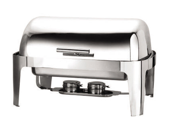 Genware Economy Alcohol Heat Roll-Top Chafing Dish