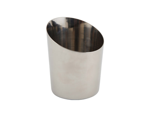 Genware Copper Angled Serving Cup Plain 12x10cm
