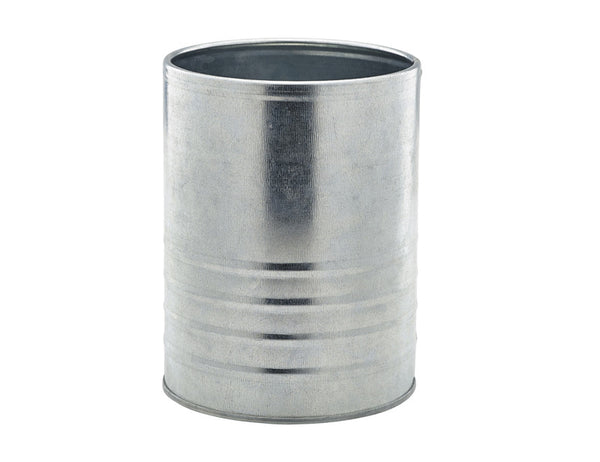 Genware Galvanised Can 11x15cm