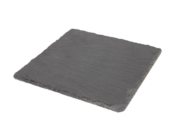 Genware Natural Edge Slate Square 20x20cm