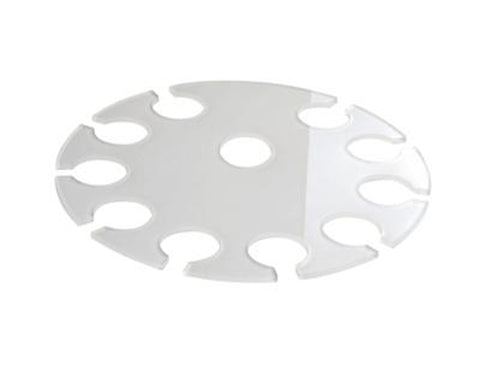Acrylic Champagne Serving Tray 31cm