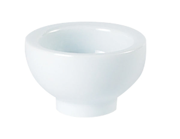 Porcelite Standard Round Footed Bowl 6x3cm