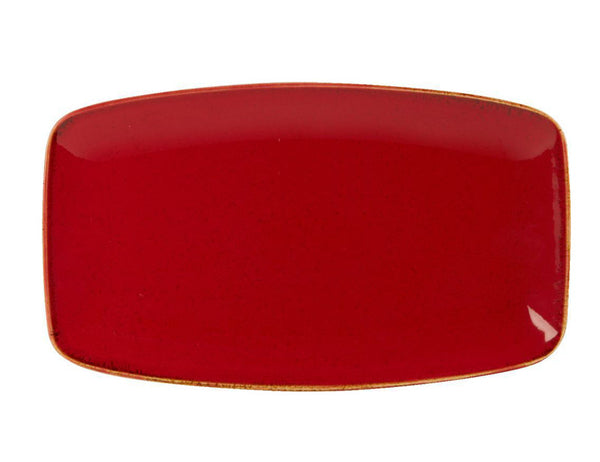 Porcelite Seasons Magma Rectangular Platter 31x18cm