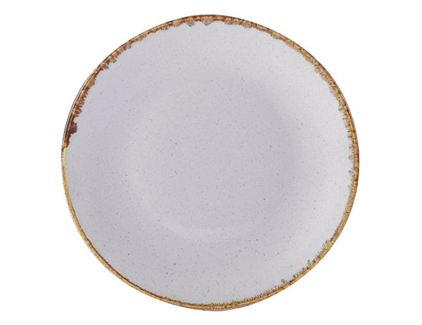 Porcelite Seasons Stone Coupe Plate 18cm