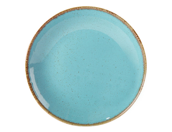 Porcelite Seasons Sea Spray Coupe Plate 28cm