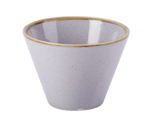 Porcelite Seasons Stone Conic Bowl 20cl