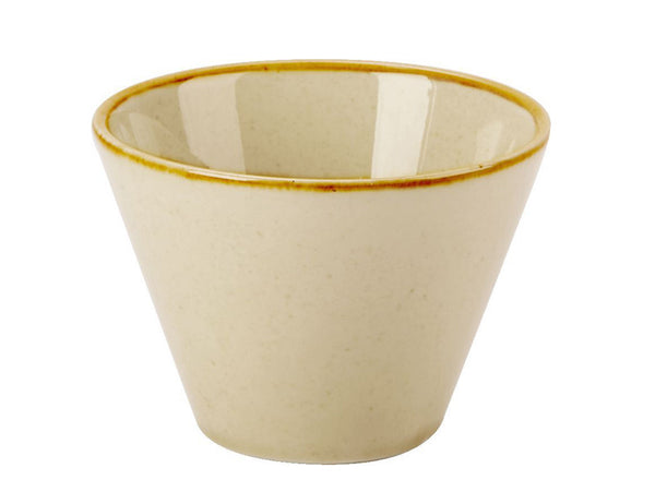 Porcelite Seasons Wheat Conic Bowl 20cl