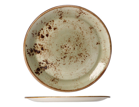 Steelite Craft Coupe Plate Green 28cm
