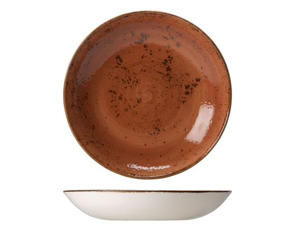 Steelite Craft Coupe Bowl Terracotta 23cm