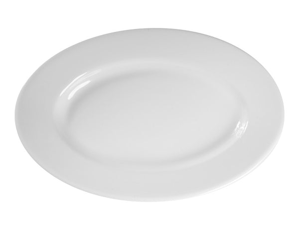 Vista Alegre Estoril Oval Plate 35cm