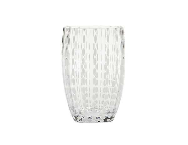 Zafferano Perle Tumbler Glass Transparent 32cl