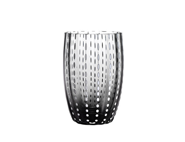 Zafferano Perle Tumbler Glass Grey 32cl