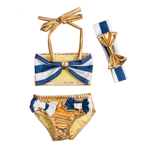 Chloe 2-Piece Sailor Swim Suit