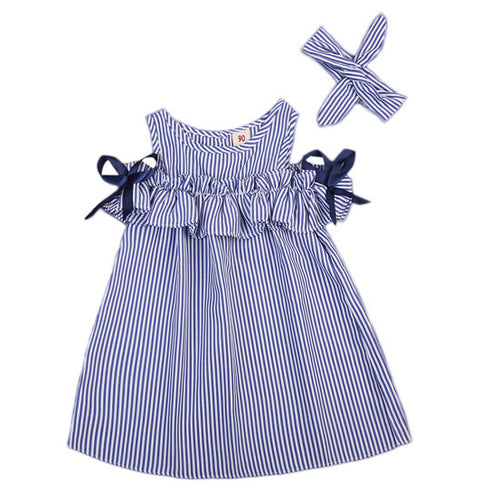 Andi Pinstripe Dress
