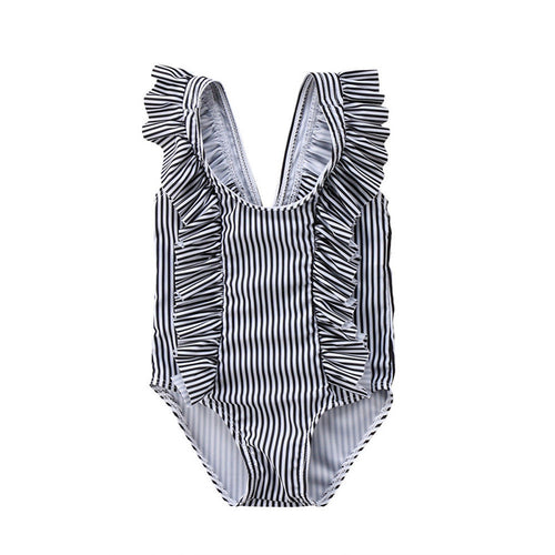 Kennedy Striped Swim Suit