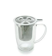 Forlife Tall Tea Mug with Infuser & Lid